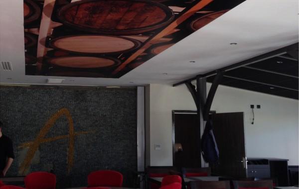 Décor intérieur toile tendue plafond
