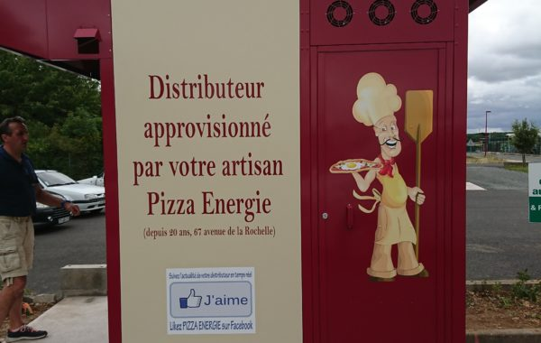 Kiosque pizza Niort