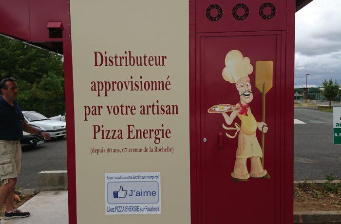 Kiosque pizza Niort