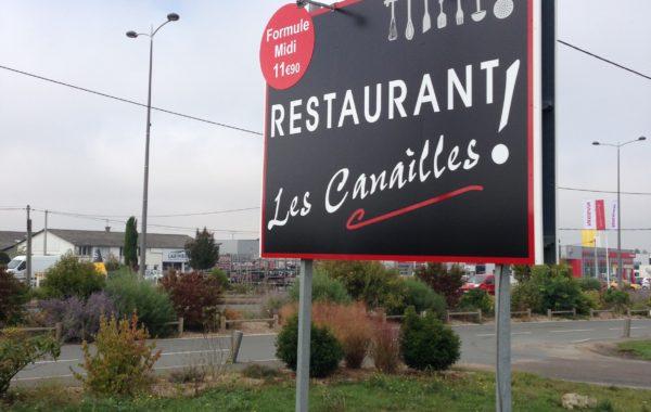 Restaurant – Les canailles !