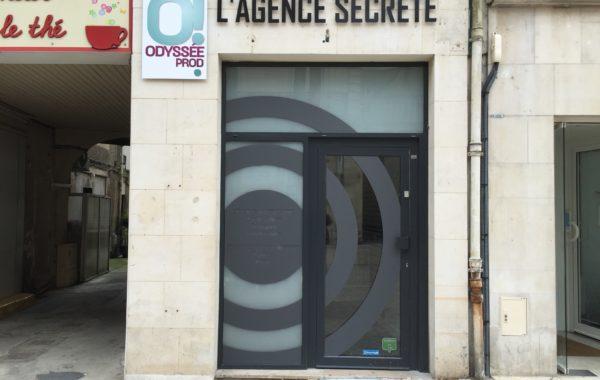 Enseigne L'agence secrète